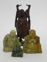 AS10008 Vier  Buddha - Figuren